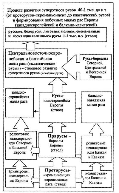 Процесс развития суперэтноса